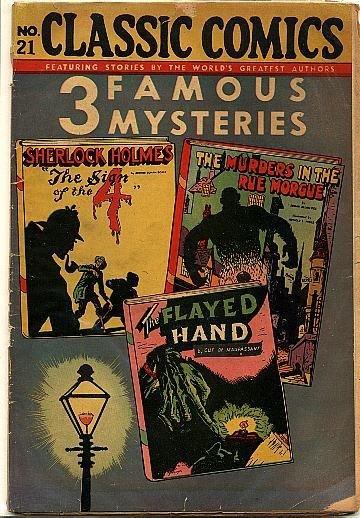 CC No 21 Three Famous Mysteries