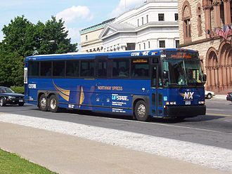 Capital District Transportation Authority - Northway Xpress bus