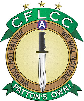 United States Army Central - Image: CFLCC LOGO Pattons Own final