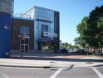 CHMI-DT - The CHMI Studio as Citytv in August 2005.