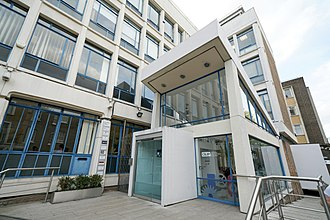 Chartered Institute of Library and Information Professionals - CILIP headquarters in Ridgmount Street, London
