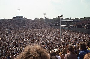 Foreman Field - CSNY Norfolk Virginia Aug 27 1974 at Foreman Field