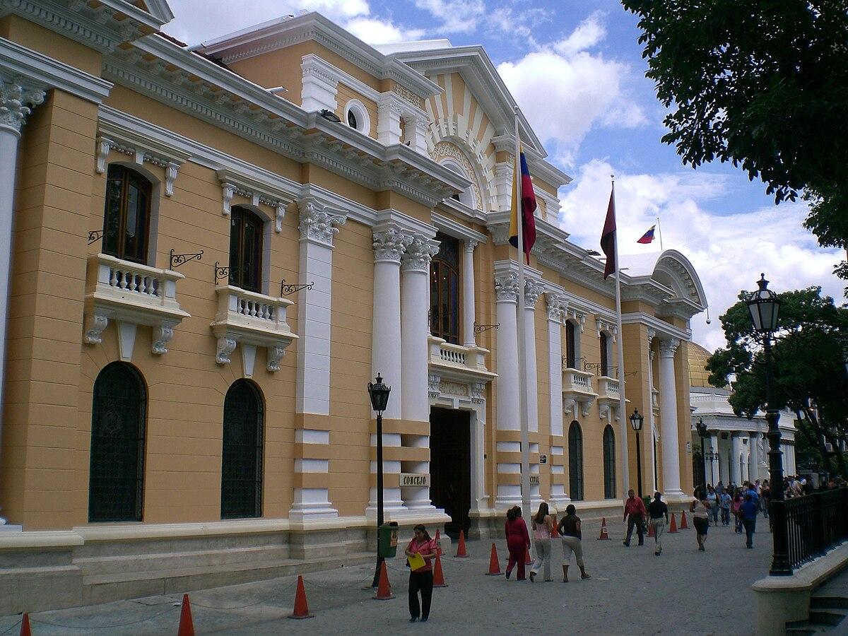 palacio municipal de caracas