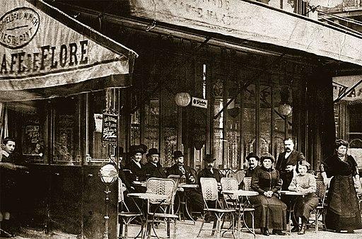 Café de Flore - 1900