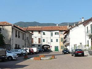 Calizzano - View from the historic centre