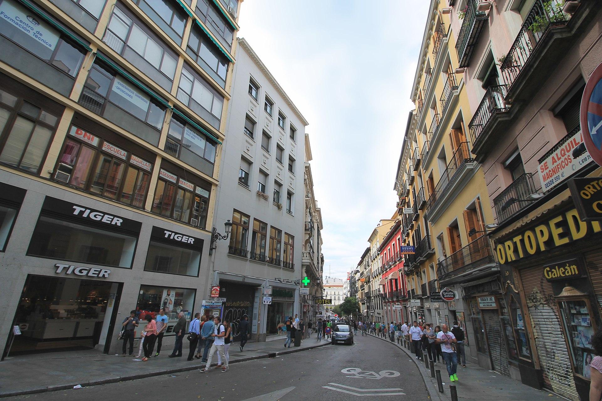 Calle de carretas wikipedia la enciclopedia libre - Calle nebulosas madrid ...