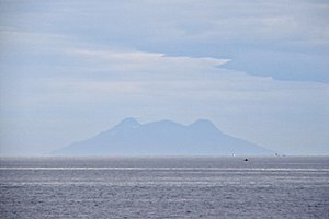 Bohol Sea - The sea with Camiguin island in the distance