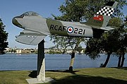 Canadair Sabre Royal Military College of Canada.jpg