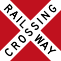 Canadian Railway Crossbuck (with red backing board).png