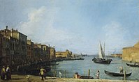 Canaletto - The Canale di Santa Chiara looking north towards the Lagoon RCIN 401403.jpg