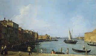 Venise: le canal de Santa Chiara vers la lagune