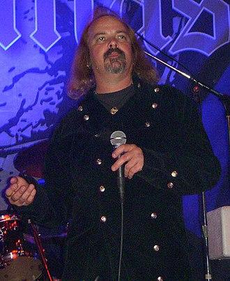 Robert Lowe (musician) - Robert Lowe performing with Candlemass