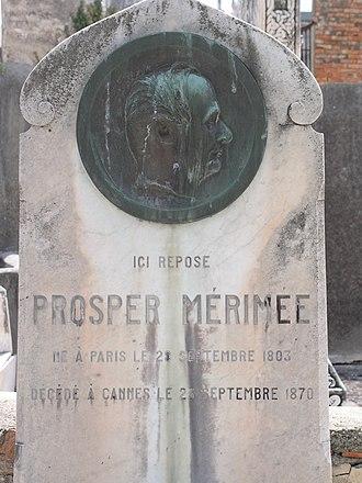 Cimetière du Grand Jas - Prosper Mérimée's tomb