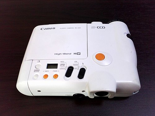 Canon RC-250 QPIC still video camera