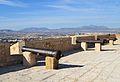 Canons del matxo del castell de santa Bàrbara, Alacant.JPG