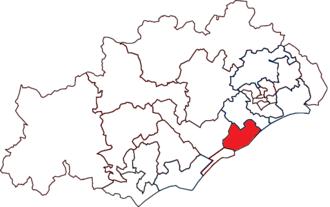 Canton of Frontignan - Image: Canton de Frontignan