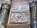 Cappella chigi (siena), rilievo 04 visitazione.JPG