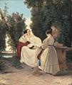 Carl Blechen - Zwei Damen im Park (ca 1830).jpg