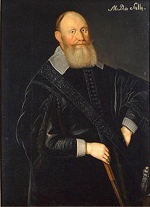 1574 in Sweden - Carl Carlsson Gyllenhielm, by Jacob Heinrich Elbfas.