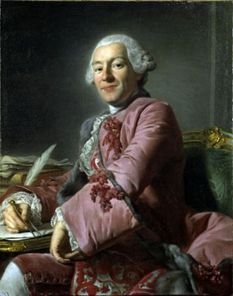 Carl Fredrik Adelcrantz - Alexander Roslin's portrait of Carl Fredrik Adelcrantz made during the latter's stay in Paris in 1754 (in the collection of the Royal Swedish Academy of Arts, Stockholm to which it was bequested by Adelcrantz)