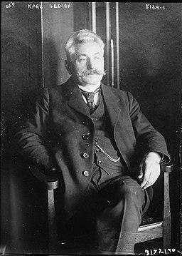 Carl Legien in 1920