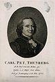 Carl Peter Thunberg. Stipple engraving by C. Westermayr. Wellcome V0005828.jpg