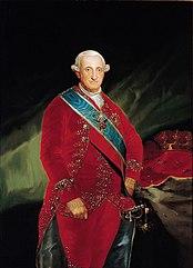 Official portrait of Charles IV by Francisco de Goya