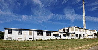 National Register of Historic Places listings in Lee County, Mississippi - Image: Carnation Milk Factory 1