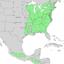 Carpinus caroliniana range map 3.png