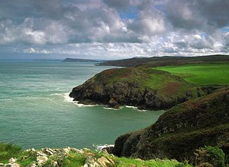 Battle of Fishguard - Carregwastad Head, the landing site for Tate's forces