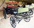 Carriage in the Szatmári Museum.JPG