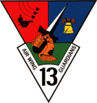 Carrier Air Wing 13 patch (US Navy) 1980s.png