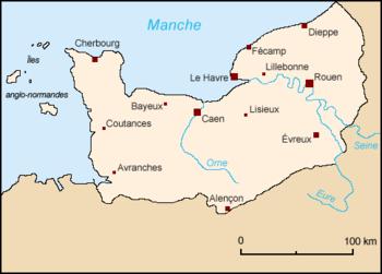 History of Normandy  Wikipedia