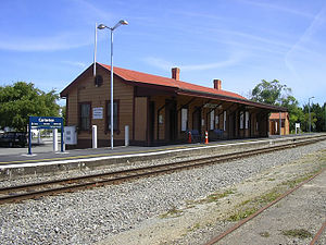 Historic Carterton Railway Station Carterton Railway Station 01.jpg