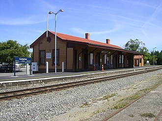 Carterton, New Zealand - Historic Carterton Railway Station