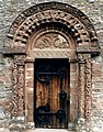 Carved doorway of Kilpeck Church - geograph.org.uk - 478033.jpg