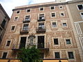 Casa del Gremi de Revenedors . façana esgrafiada 03.JPG