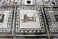 Casa di paquius proculus, cortile con mosaici 04 leone.jpg