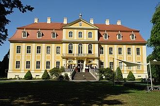 Rammenau - Image: Castle Rammenau Germany 101