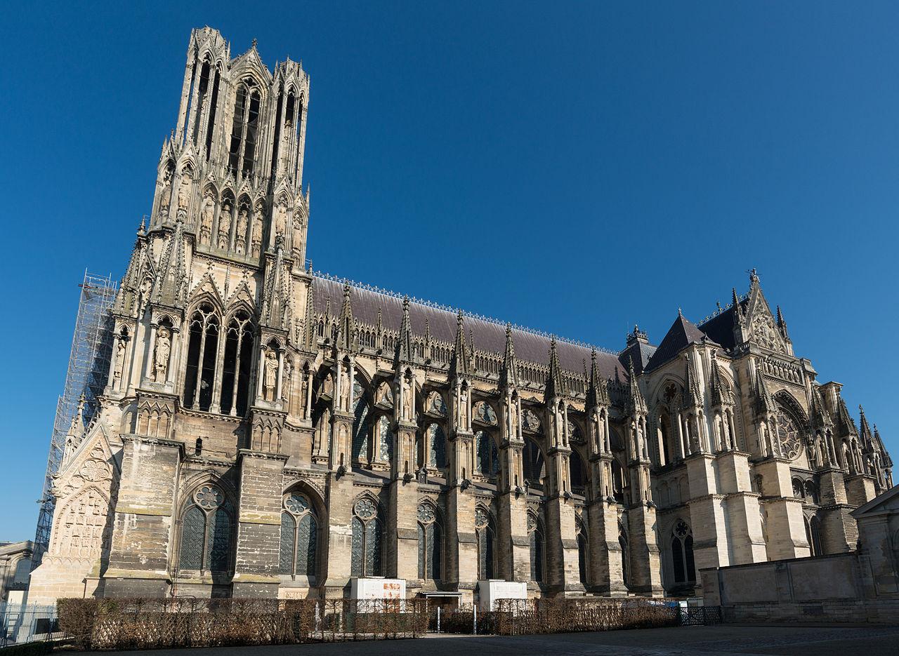 FileCathdrale Notre Dame De Reims South View 20140306 2