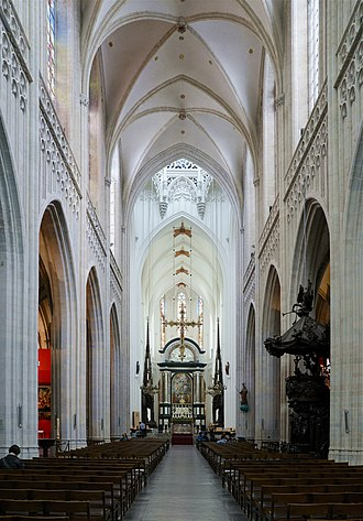 Cathedral of Our Lady (Antwerp) - Main nave