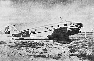 LAPE Former Spanish national airline