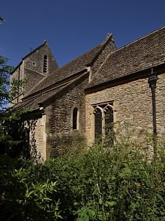 Caversfield village and civil parish in Cherwell district, Oxfordshire, England