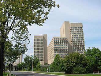 Department of National Defence (Canada) - National Defence Headquarters in Ottawa, Ontario, Canada
