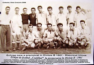 CSM Ceahlăul Piatra Neamț - Ceahlăul Piatra Neamț (1960-1961), team that promoted in the Divizia B for the first time in club's history.