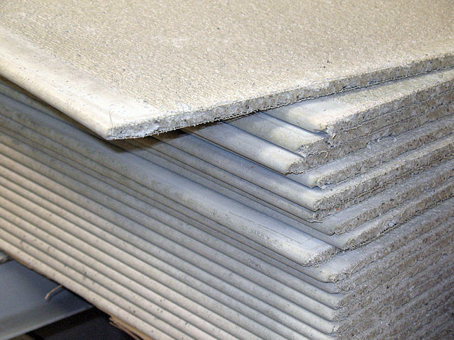 File cement wikimedia commons for Gypsum board asbestos