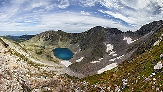 Iskar (river) - One of the glacial Musala Lakes in the Rila mountains that feeds the uppermost tributaries of the Iskar