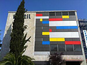 Textile Museum and Documentation Centre - Façade of the Texile Museum and Documentation Centre