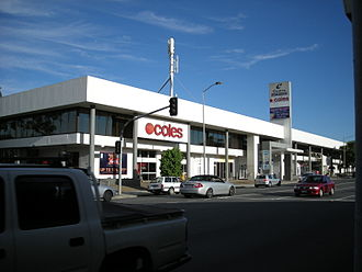 Lutwyche City Shopping Centre - Lutwyche Road Entrance