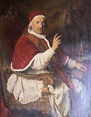 Portrait du pape Benoît XIV
